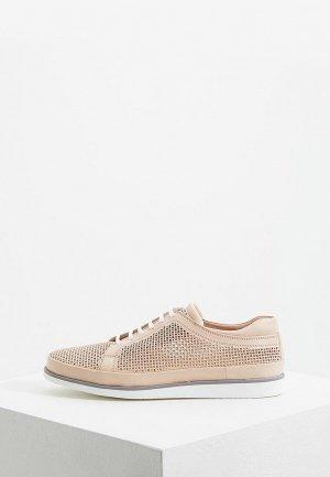 Ботинки Aldo Brue. Цвет: бежевый