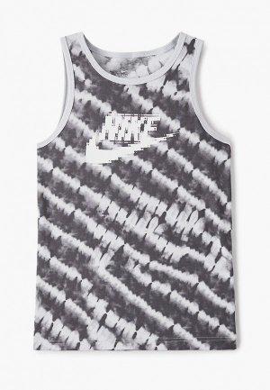 Майка Nike. Цвет: серый