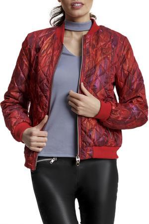 Куртка D`IMMA. Цвет: красный