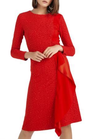 Платье BGN. Цвет: красный