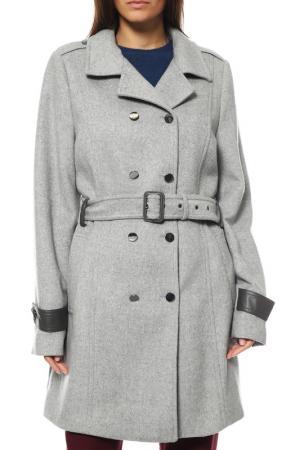Пальто ZERO. Цвет: серый