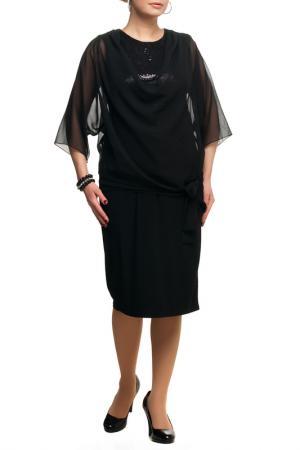 Платье OLSI. Цвет: черный