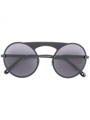 Солнцезащитные очки Bubble Philipp Plein. Цвет: черный