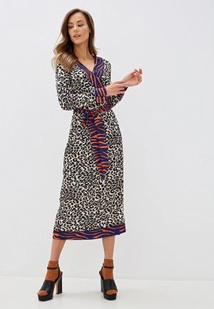 Платье Camomilla Italia. Цвет: бежевый