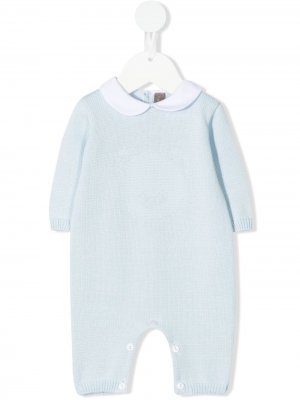 Трикотажная пижама Little Bear. Цвет: синий