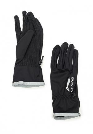 Перчатки Li-Ning. Цвет: черный