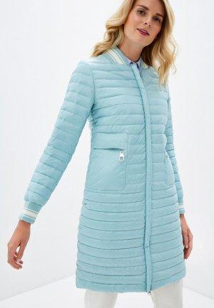 Куртка утепленная Malinardi. Цвет: голубой