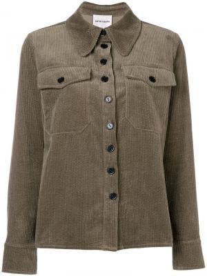 Papy corduroy shirt Antik Batik. Цвет: серый