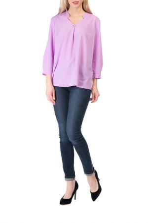 Блузка Mankato. Цвет: фиолетовый