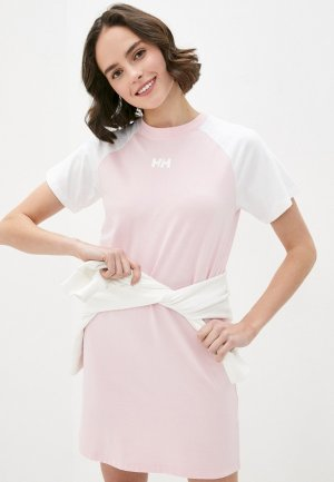 Платье Helly Hansen. Цвет: розовый