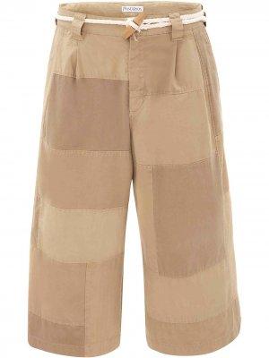 Укороченные брюки JW Anderson. Цвет: оранжевый