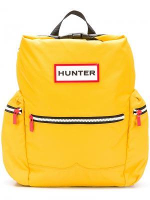 Water-resistant backpack Hunter. Цвет: желтый