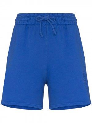 Спортивные шорты Burl с завышенной талией Frankies Bikinis. Цвет: синий