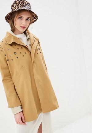 Куртка Compania Fantastica. Цвет: бежевый