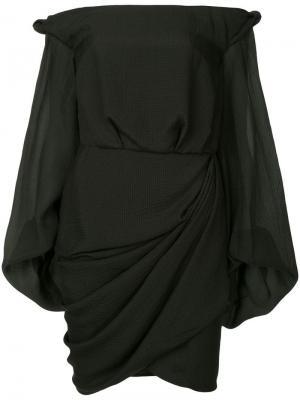 Платье с открытыми плечами Thatcher CAMILLA AND MARC. Цвет: черный