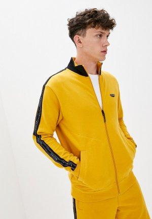 Олимпийка Volcom. Цвет: желтый