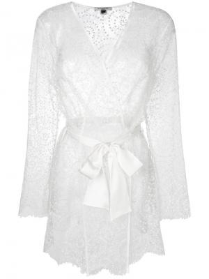 Халат-кимоно Evelyn Gilda & Pearl. Цвет: белый