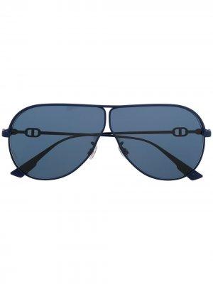 Солнцезащитные очки Diorcamp Dior Eyewear. Цвет: синий