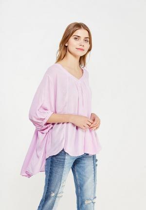 Блуза Free People. Цвет: фиолетовый