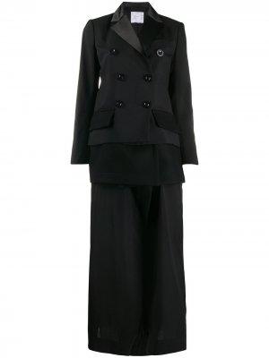 Платье-блейзер Tuxedo Sacai. Цвет: черный