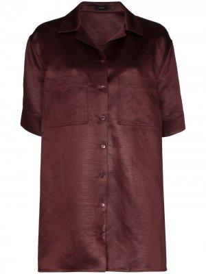 Рубашка Brani Joseph. Цвет: красный