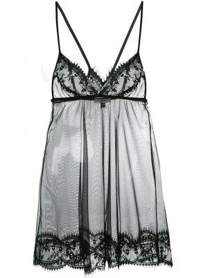 Сорочка Deshabille Gilda & Pearl. Цвет: черный