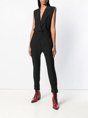 Manray fitted jumpsuit 8pm. Цвет: черный