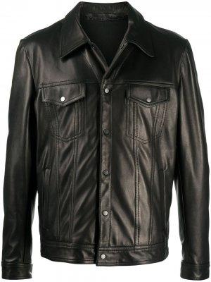 Куртка на пуговицах Salvatore Santoro. Цвет: черный