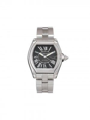 Наручные часы Roadster pre-owned 38 мм Cartier. Цвет: черный