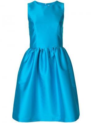 Расклешенное платье Ultràchic. Цвет: синий