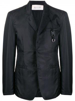 Однобортный пиджак 1017 ALYX 9SM. Цвет: черный