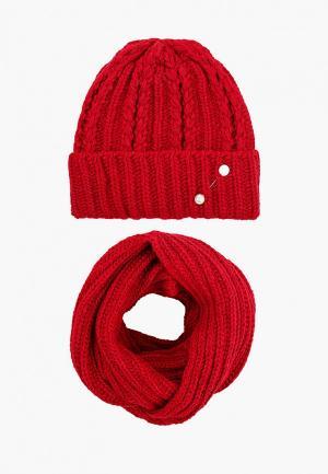 Комплект TrendyAngel. Цвет: красный