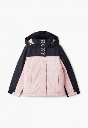 Куртка сноубордическая Roxy. Цвет: розовый