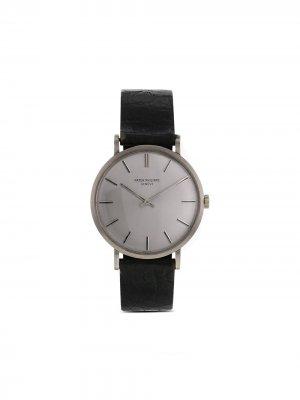 Наручные часы Calatrava 33 мм 1969-го года Patek Philippe. Цвет: серый