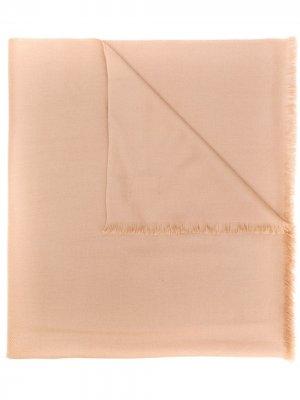 Шаль из пашмины N.Peal. Цвет: коричневый