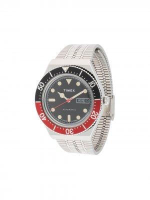Наручные часы M79 Automatic 40 мм TIMEX. Цвет: серебристый