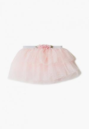 Юбка Choupette. Цвет: розовый