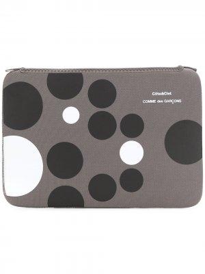 Macbook Air 11 case Comme Des Garçons Wallet. Цвет: серый