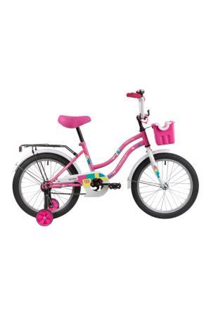 Велосипед NOVATRACK. Цвет: розовый