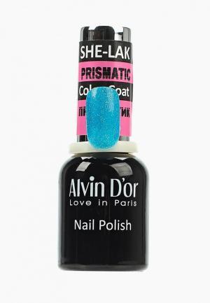 Гель-лак для ногтей Alvin Dor D'or. Цвет: бирюзовый