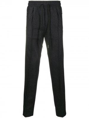 Спортивные брюки с кулиской Tagliatore. Цвет: серый