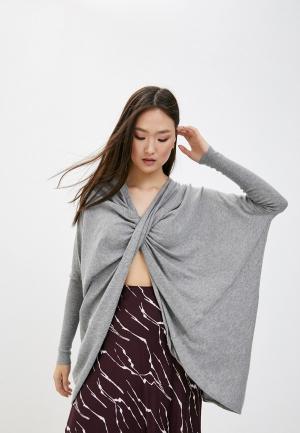 Пуловер AllSaints. Цвет: серый
