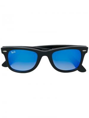 Солнцезащитные очки Wayfarer Ray-Ban. Цвет: черный