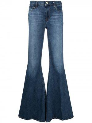 Расклешенные джинсы J Brand. Цвет: синий