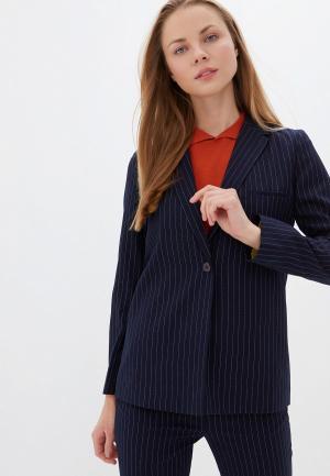Пиджак UNQ. Цвет: синий