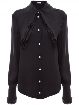 Многослойная блузка JW Anderson. Цвет: черный
