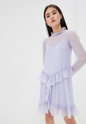 Платье See by Chloe. Цвет: фиолетовый