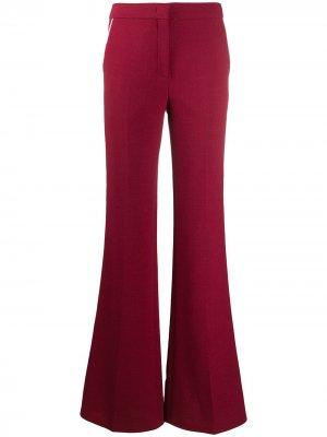 Расклешенные брюки Emilio Pucci. Цвет: красный