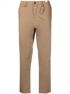 Прямые брюки Closed. Цвет: нейтральные цвета