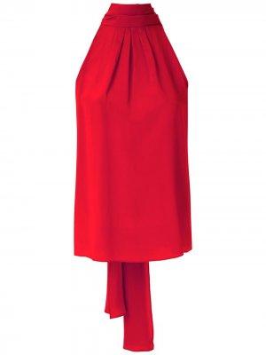 Блузка без рукавов Eva. Цвет: красный